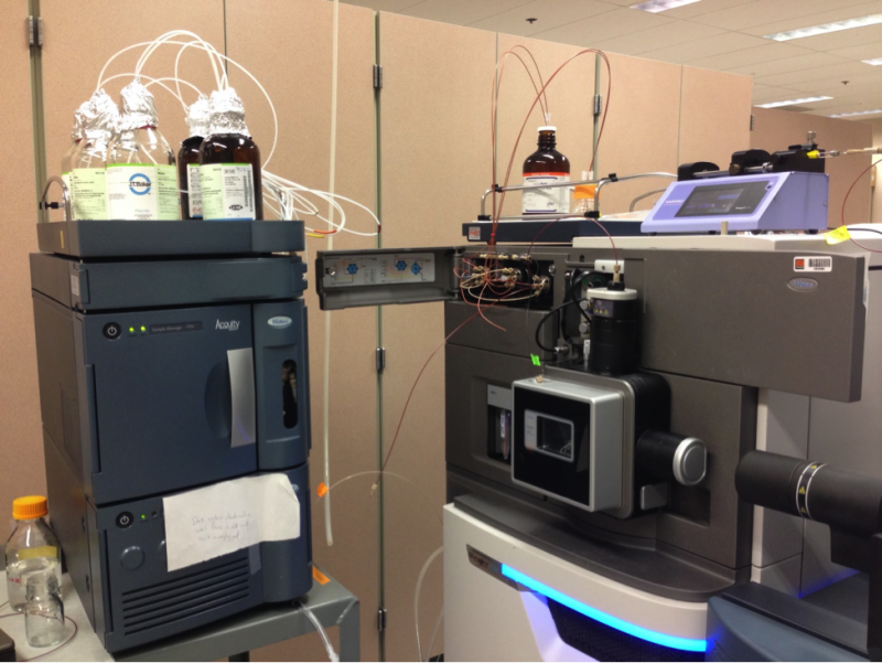 Waters Synapt G2 coupled to Waters Acquity UPLC (Metabolites)