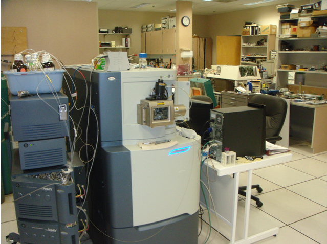 "Waters Synapt HDMS coupled to Waters nanoAcquity ""cold"" UPLC  for Hydrogen/Deuterium exchange mass spectrometry (HDX-MS)"